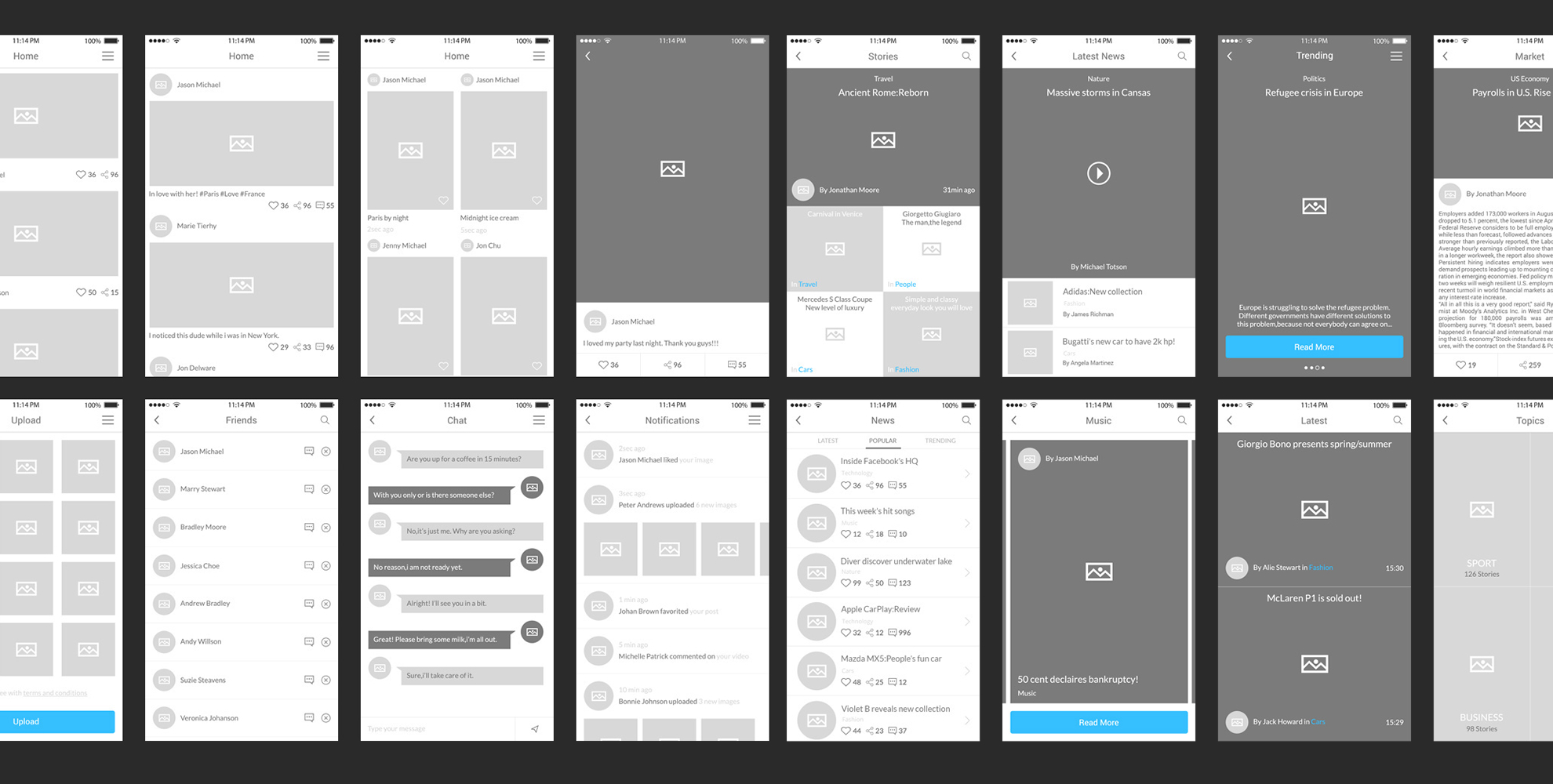Summing up this year's new UI/UX trends